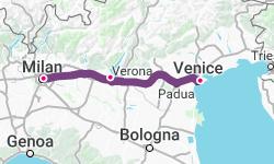 Milan-Lake Garda-Venice